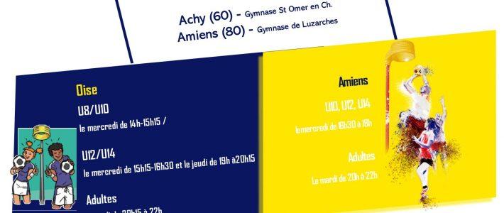 Saison 2019-2020 : inscriptions et informations pratiques.